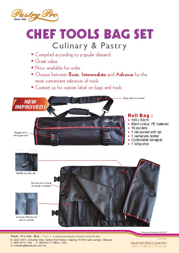 Chef Tools Bag