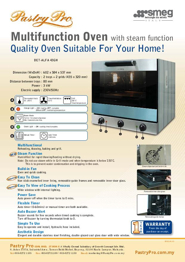 Heavy Duty Oven