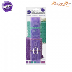 WILTON, Cake Comb Set, 4 Piece