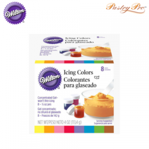 WILTON, Gel Food Colours Set, Primary Colours, 4 Colours