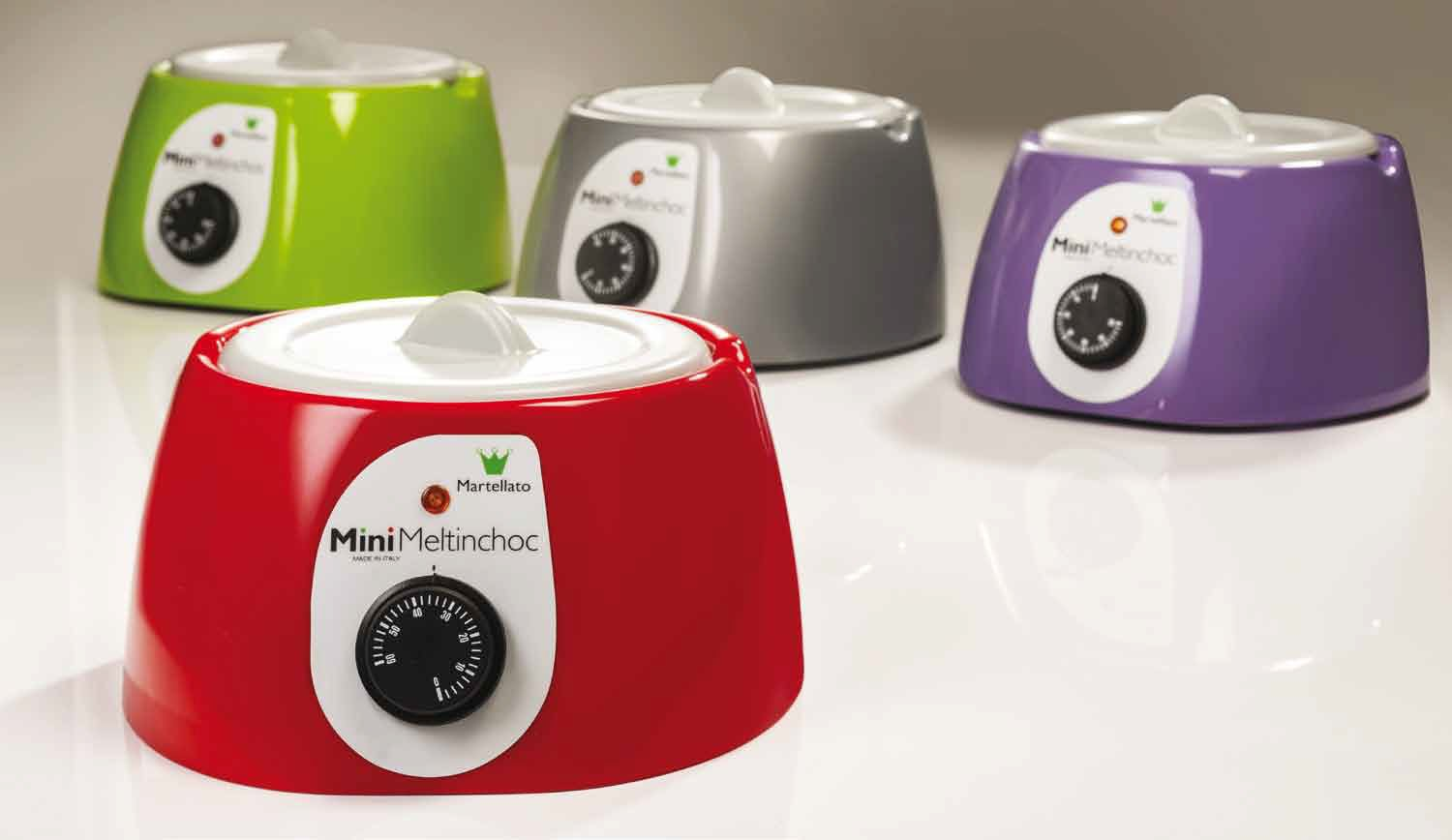 mini chocolate warmer range