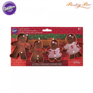 wilton cookie cutter set gingerbread