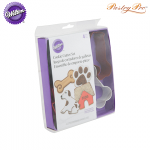 wilton cookie cutter set pet animal