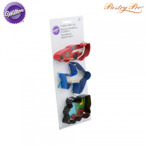 wilton cookie cutter set wheels