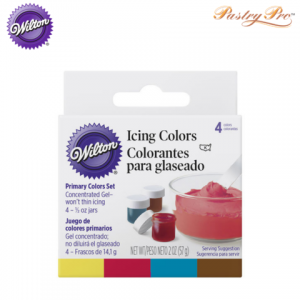 wilton icing colour set 4 primary colours